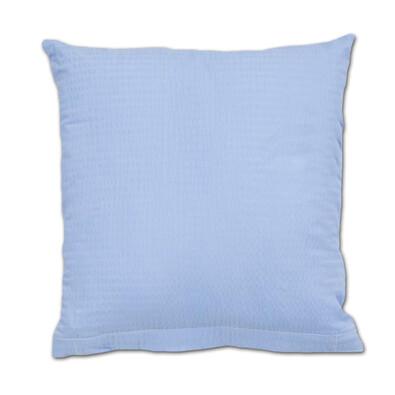 Povlak na polštářek krep modrá, 40 x 40 cm