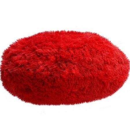 Domarex Queen párna, kerek, piros, 50 cm