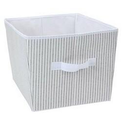 Koopman Úložný box 39 x 30 x 24 cm, šedo-bílá