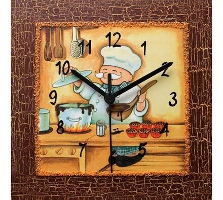 Nástěnné hodiny Kuchtík