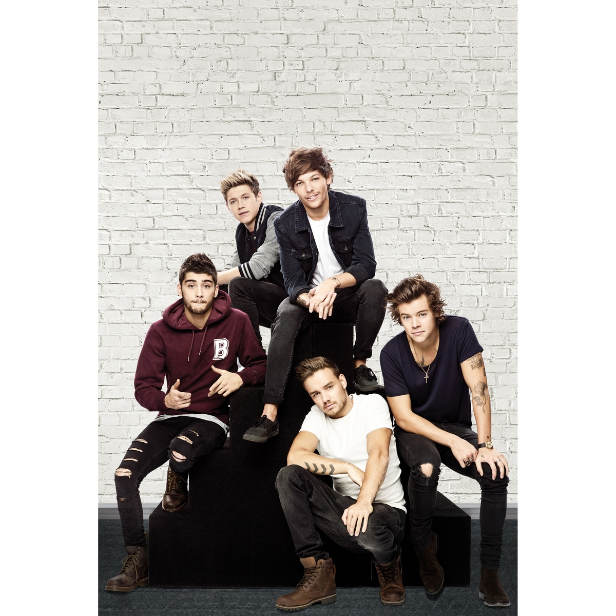Fototapeta One Direction 3, 158 x 232 cm