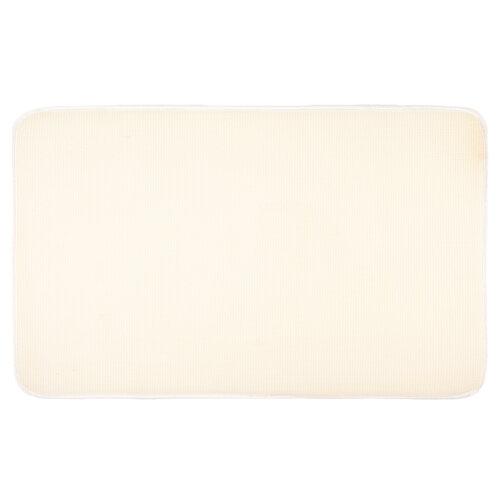 Koupelnová předložka Carol bílá, 50 x 80 cm