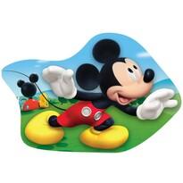 Tvarovaný vankúšik Mickey Mouse, 34 x 30 cm