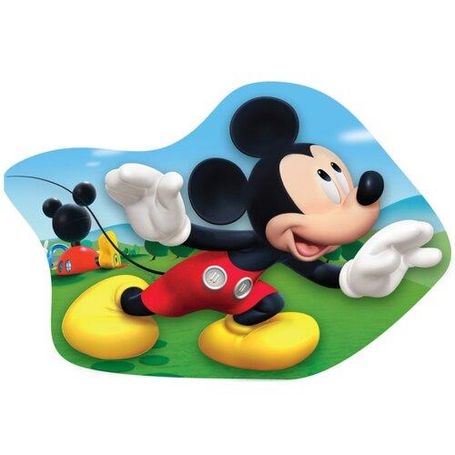 Pernă profilată  Mickey Mouse, 34 x 30 cm
