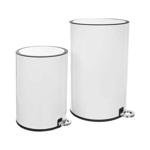 Coș de gunoi cu pedală Orion WHITE, 12 l