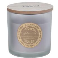 Svíčka ve skle Natural story Incense & Sandalwood