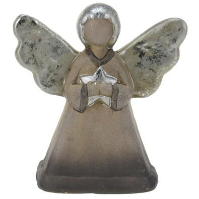 Înger ceramic Sabiano, de Crăciun, 15 cm