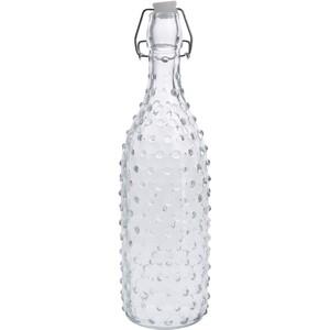 Skleněná láhev s uzávěrem Dots