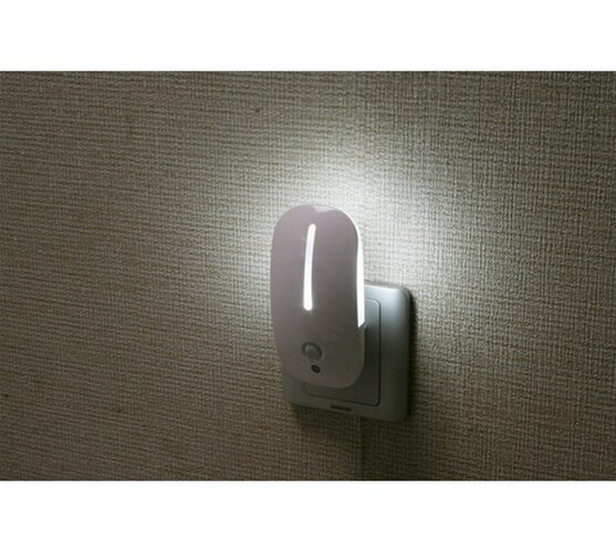 Solight Noční LED světlo s pohybovým a světelným senzorem