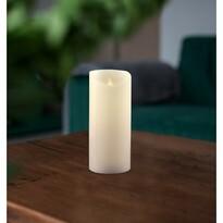 Vosková LED svíčka, 7,5 x 15 cm