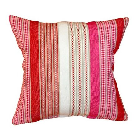 Povlak na polštářek Stripe červená, 40 x 40 cm