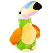 Tukan pluszowy, zielony