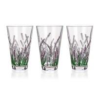 Banquet 3dílná sada sklenic Lavender