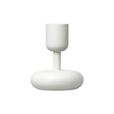 Svícen Nappula 10,7 cm, bílý