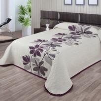 Cuvertură pat Azur violet, 140 x 220 cm