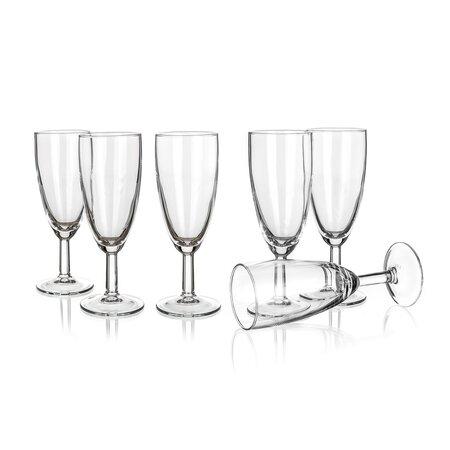Pacome 6 részes pezsgős pohár készlet 145 ml