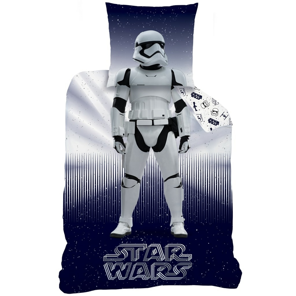 CTI Bavlněné povlečení Star Wars Stormtrooper, 140 x 200 cm, 70 x 90 cm