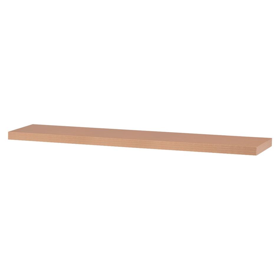Nástenná polička Shelfy 120 cm, buk, 120 cm