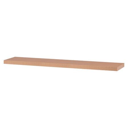 Nástenná polička Shelfy 120 cm, buk
