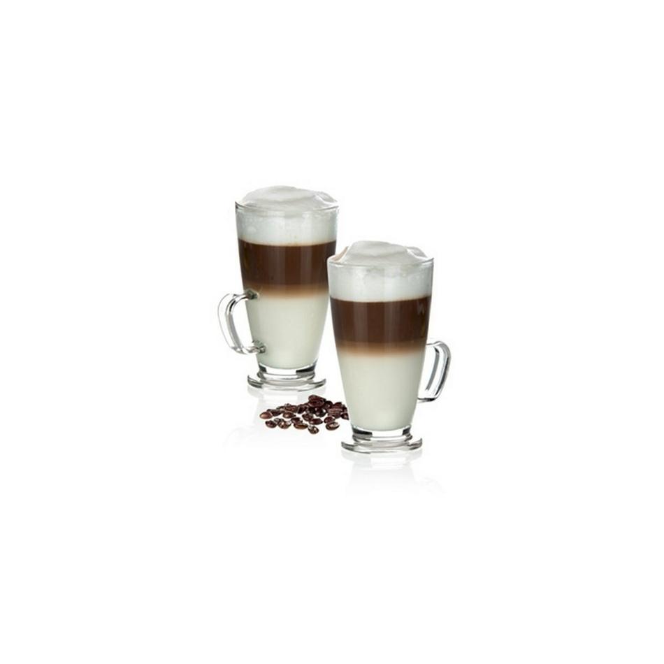 Tescoma Sklenný hrnček latté macchiato CREMA 300 ml, 2 ks