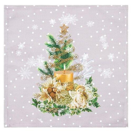 Forbyt Vánoční ubrus Vánoční stromeček, 35 x 35 cm, 35 x 35 cm