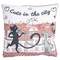 Macskák a városban kispárnahuzat