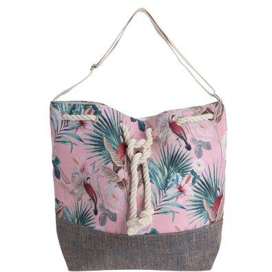 Jungle strandtáska, rózsaszín