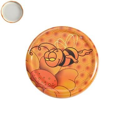 Víčko na zavařovací sklenice Med 7 cm, 10 ks