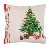4Home Vianočná obliečka na vankúšik Retro Christmas, 45 x 45 cm
