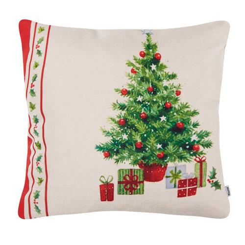4Home karácsonyi párnahuzat Retro Christmas, 45 x 45 cm