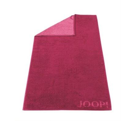 JOOP! ručník Doubleface růžový, 50 x 100 cm