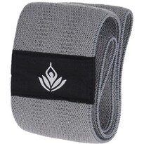 Bandă rezistență XQ Max Yoga Band, argintiu