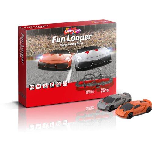 Buddy Toys BST 1552 Autodráha Fun Looper, 550 cm