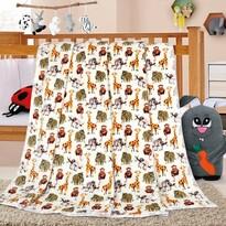 Pătură de copii Ella Safari, 100 x 155 cm