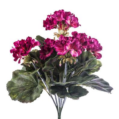 Umělá květina muškát růžový