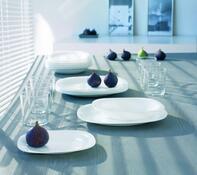 Luminarc Carine 18-dielna tanierová súprava biela