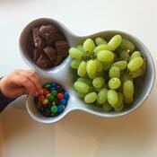 Mísa na ovoce Vitamin Container S, bílá