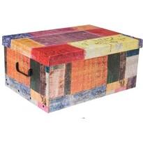 Koopman Úložný box Jeans, oranžová