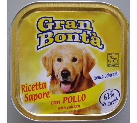 Paštika Gran Bonta s kuřecím masem pro psy , 150g