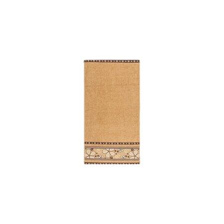 Ručník Fiora světle hnědá, 30 x 50 cm
