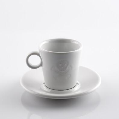 Espresso šálek Maryša 100 ml, bílý