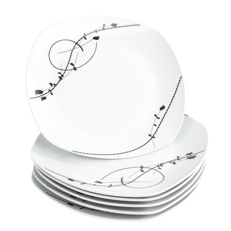 Fotografie Domestic 6dílná sada mělkých talířů Londra, 25 cm