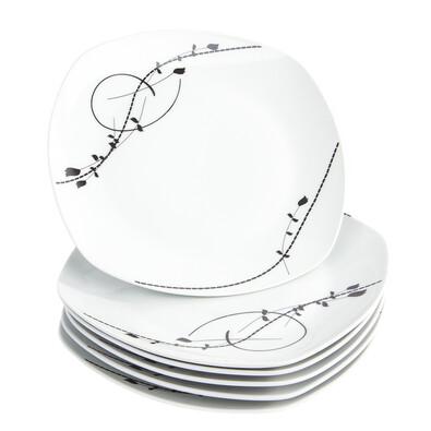 Domestic Londra 6 részes lapos tányér készlet, 25 cm
