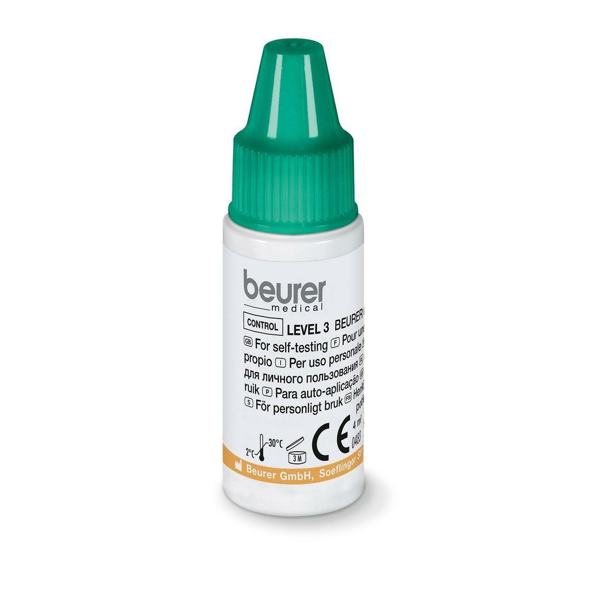 Beurer Kontrolní roztok L3 + L4 pro GL 44 / GL 50, 2x 4 ml