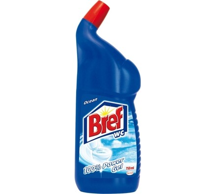Breff WC gel 100% Power ocean Jumbo 750 ml