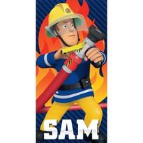Osuška Požiarnik Sam, 70 x 140 cm