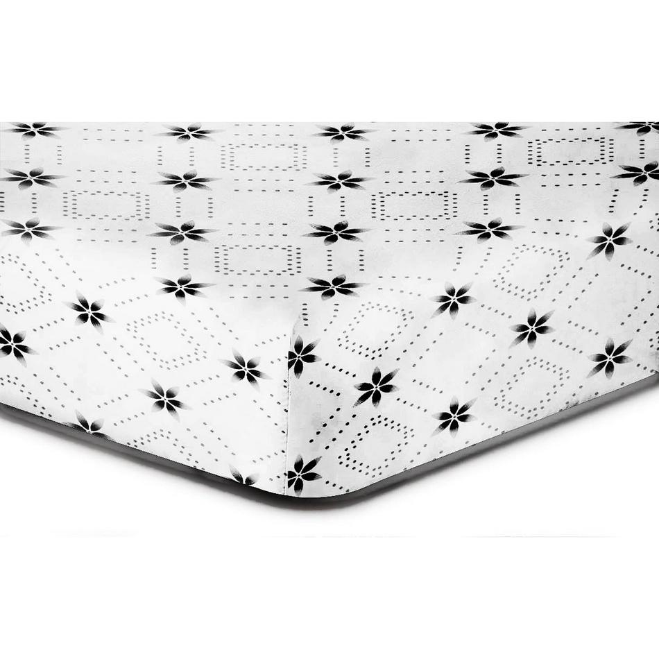 DecoKing Prostěradlo Snowynight S2 mikrovlákno, 90 x 200 cm