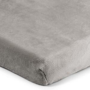 4Home prostěradlo mikroflanel šedá, 160 x 200 cm, 160 x 200 cm