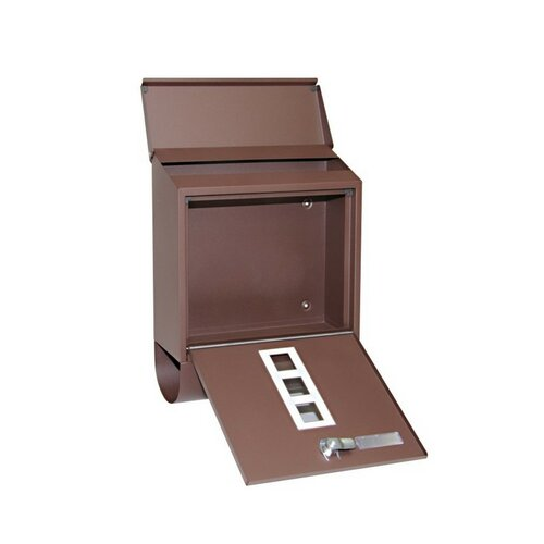 Poštovní ocelová schránka s okénky a tubusem BK.203.HM