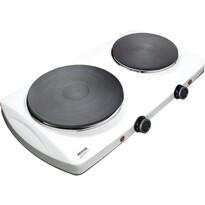 Sencor SCP 2253WH dvouplotýnkový vařič, bílá